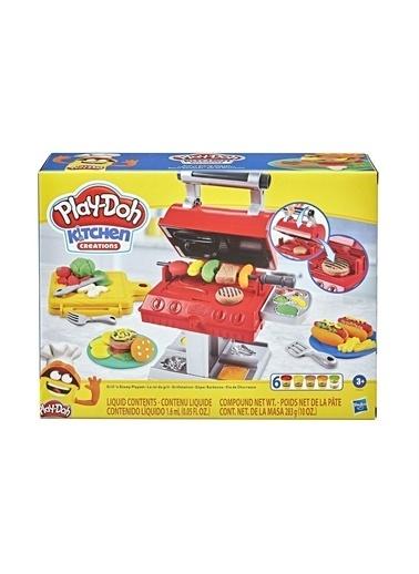 Hasbro Hasbro F0652 Playdoh Barbekü Partisi Oyun Seti Renkli